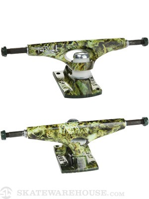 Krux Sandoval Tall Forged Hollow Trucks Green 8
