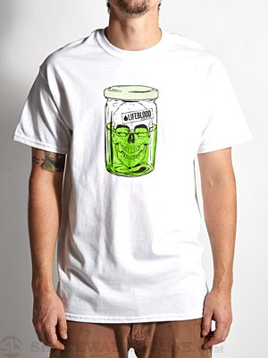 Lifeblood Gnar Jar Tee White MD