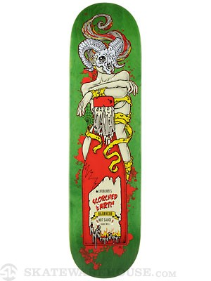 Lifeblood Habanero Deck  8.25 x 32