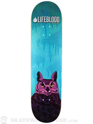Lifeblood Owl Deck  8.0 x 31.5