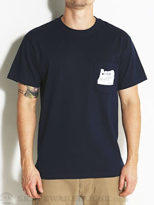 Lifeblood Pocket Tee Navy MD