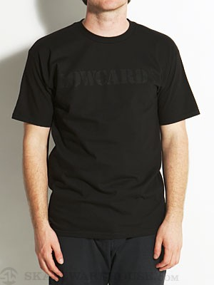 Lowcard Black Out Tee Black MD