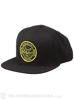 Lowcard Beer-Tanic Snapback Hat Black Adjust