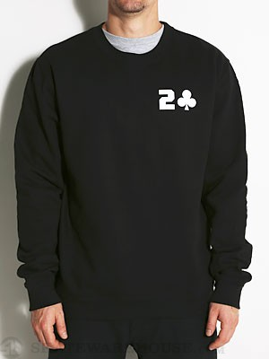 Lowcard Gasser Crewneck Sweatshirt Black MD