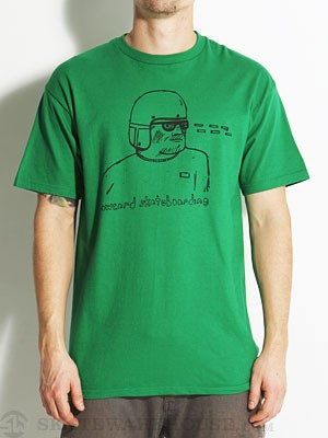 Lowcard Artist Jay Croft Tee Kelly Green SM