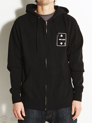 Lowcard Lower Hand Hoodzip Black SM