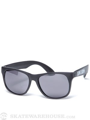 Lowcard Logo Sunglasses  Black