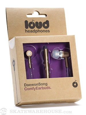 Loud Headphones Daewon Song Earbuds  Gold/Purple