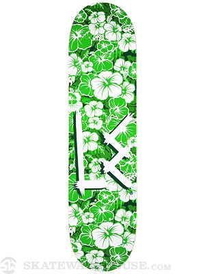 L.E. Hawaiian Green Deck 8.0 x 31.75