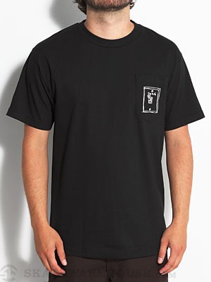 L.E. Swag Switch Pocket Tee Black MD