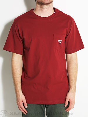 LRG Core Collection Six Pocket Tee Maroon SM