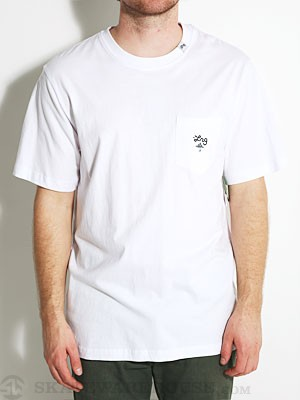 LRG Core Collection Six Pocket Tee White MD