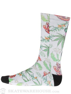 LRG Alohigh Crew Socks Natural SM/MD