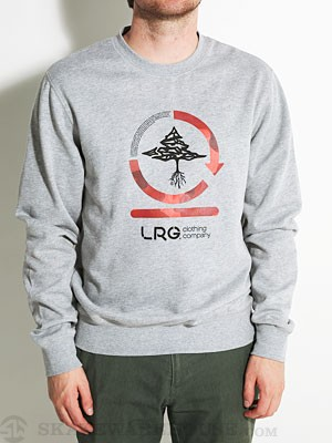LRG Core Collection Two Crew Sweatshirt Ash SM
