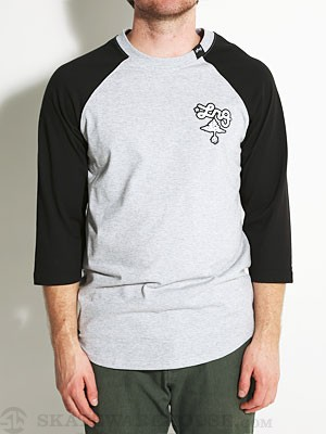 LRG Core Collection Baseball Tee Ash MD