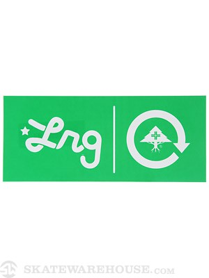 LRG Company Sticker Kelly Green 8