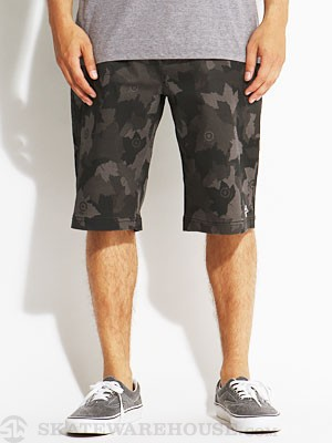 LRG Core Chino Shorts Black Camo 32
