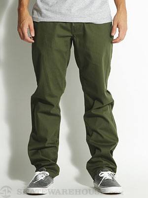 LRG The Natural TS Chino Pants Dark Olive 32