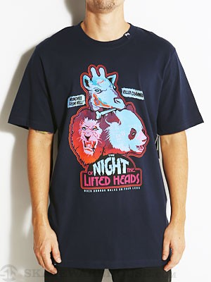 LRG Night Of The Lifted Heads Tee Navy SM
