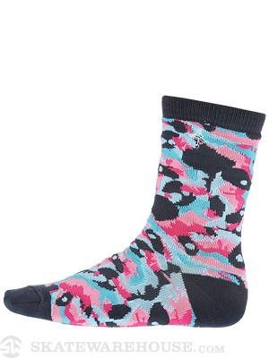 LRG Panda Dripper Crew Socks Black SM/MD