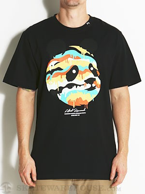 LRG Panda Dripper Tee Black SM
