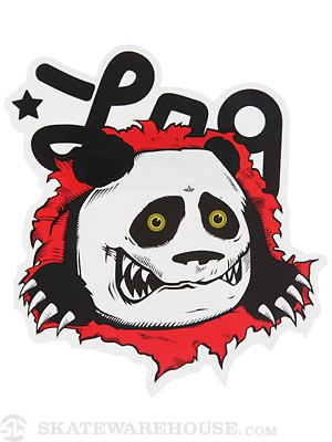 LRG Panda Ripper Sticker 4.8
