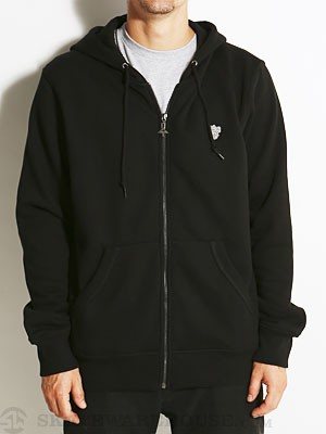 LRG Research Collection Hoodzip Black MD