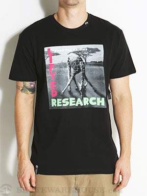 LRG Research Calling Slim Fit Tee Black SM