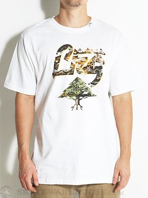 LRG Roots of the Motherland Tee White SM