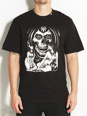 LRG Stone To The Bone Tee Black MD