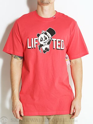 LRG The Lifted Show Tee Red SM