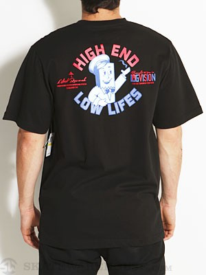 LRG Vision Pocket Tee Black SM