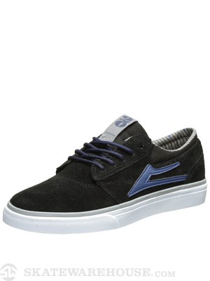 Lakai x Girl 20 Year Griffin Shoes  Black Suede