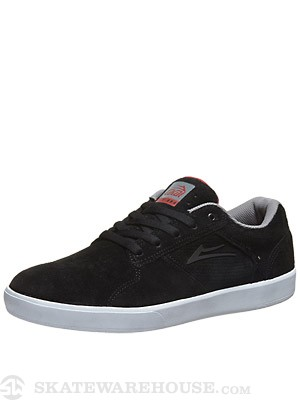 Lakai BB4 Shoes  Black Suede