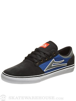 Lakai Brea Shoes  Grey/Blue Suede
