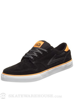 Lakai Carroll 5 Shoes  Black Suede