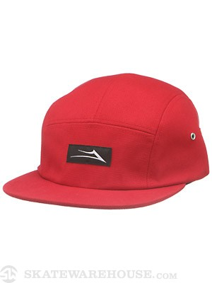 Lakai Chief 5 Panel Hat Red