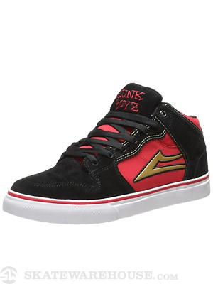Lakai x Trunk Boyz Carroll Select Shoes  Black/Red