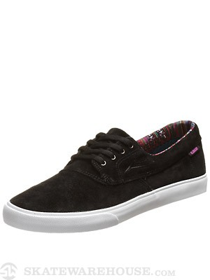 Lakai Camby Tour Shoes Black Suede