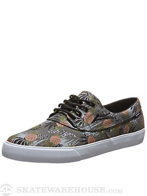 Lakai x FTC Camby Pinapple Shoes  Black Canvas