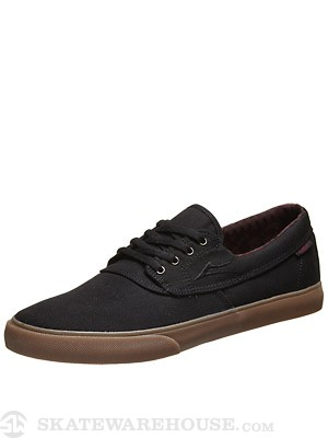 Lakai Camby Shoes  Black/Gum