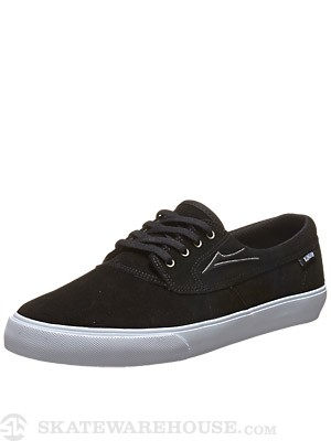 Lakai Camby Shoes Black/White Suede