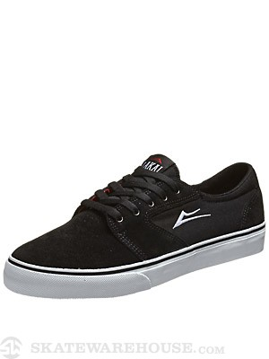Lakai Fura Shoes  Black Suede