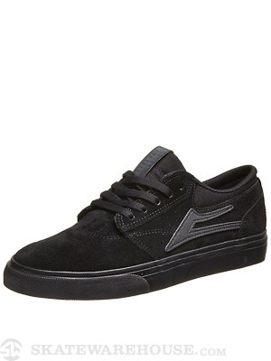 Lakai Griffin Shoes  Black/Black