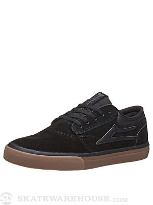 Lakai Griffin Shoes  Black/Gum Suede