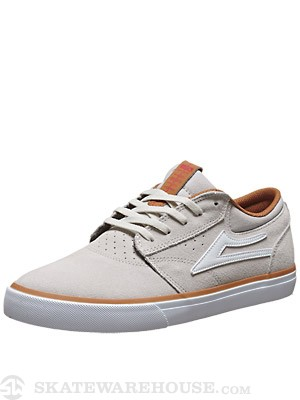 Lakai Griffin Shoes  Cream Suede