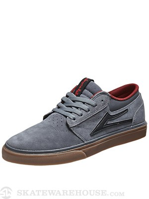 Lakai Griffin Anchor Shoes  Grey/Gum