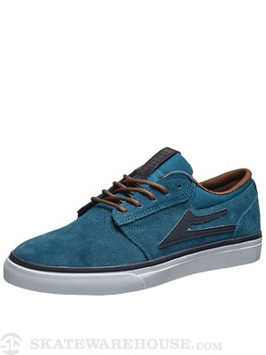 Lakai Griffin Shoes  Ink Blue Suede