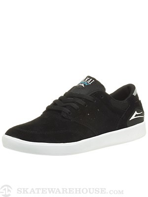 Lakai Guy XLK Shoes  Black/White Suede