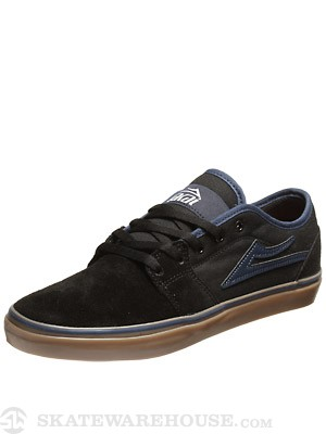 Lakai Judo Shoes  Black/Gum Suede